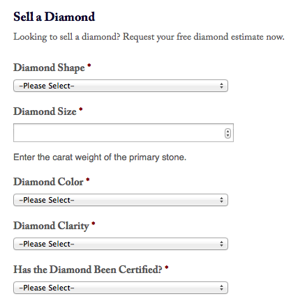 Diamond Estimate